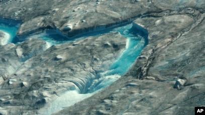 Greenland Sees Massive Ice Melt