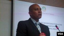 A fazer contas. Rui Ramos director do Gabinete de Estudos, Planeamento e Estatística de Malanje