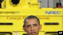 صدر براک اوباما کا تحقیق اور جدید ٹیکنالوجی کے شعبوں میں سرمایہ کاری پر زور