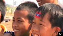 Laotian children