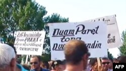 Protestë e banorëve të nën-Shkodrës për dëmshpërblimet nga përmbytjet