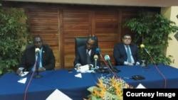 Des membres de l'Union africaine au Burundi le 25 juin 2016.