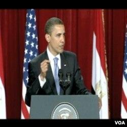 Predsjednik Obama tokom govora u Cairu u junu 2009. godine