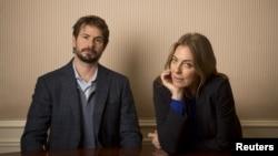 Sutradara 'Zero Dark Thirty' Kathryn Bigelow dan penulis skenario film tersebut, Mark Boal.