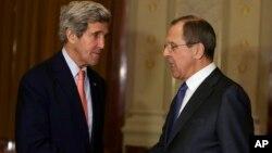 Джон Керри и Сергей Лавров (Фото из архива)