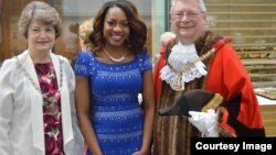 Cynthia Masiyiwa Mukoko received the 2015 Civic Recognition for Outstanding Achievement (by the Mayor of Bexley)