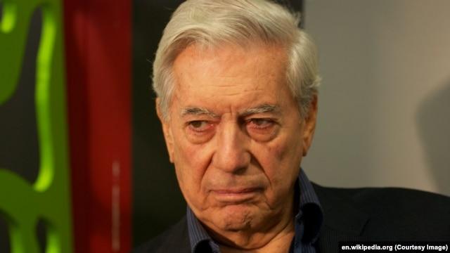 Лауреат Нобелівської премії у галузі літератури Варгас Льоса