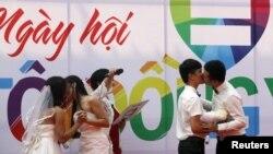 Lễ cưới của các cập đồng giới ở Việt Nam