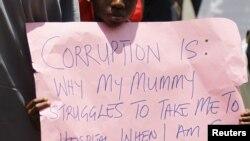 Manifestation contre la corruption au Nigeria (Reuters)