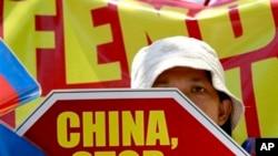 Dân Philippines xuống đường biểu tình phản đối Trung Quốc về vụ đối đầu ở bãi cạn Scarborough