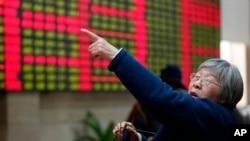 2013年12月26日上海一家私人有价证券公司股价显示器