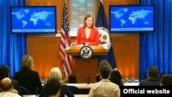Ежедневный брифинг для прессы в Госдепартаменте США (архивное фото)