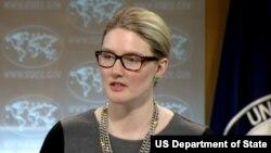 美國國務院副發言人瑪麗‧哈夫(圖片來源:美國國務院)