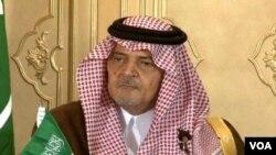 سعودی عرب کے وزیرِ خارجہ شہزادہ سعود الفیصل
