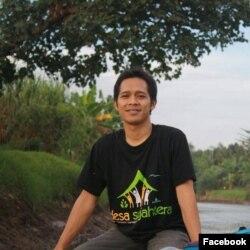 Muhammad Ichwan, Koordinator Jaringan Pemantau Independen Kehutanan (JPIK) Jawa Timur (Foto: Facebook)