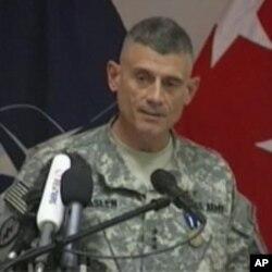 دگرجنرال رابرت کسلین قوماندان ماموریت آموزشی ناتو