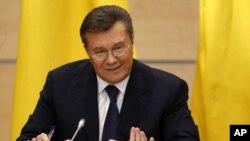 El depuesto presidente de Ucrania, Viktor Yanukovych.