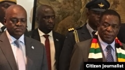 President Emmerson Mnangagwa And Botswona President Masisi 5