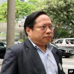 民主党主席何俊仁(资料照片)