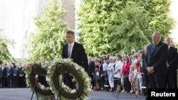 挪威領導人悼念大屠殺事件一週年