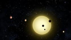 Planet-planet yang ditemukan di seluruh jagad raya kemungkinan berpusat dalam sebuah piringan besar (foto: ilustrasi).