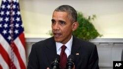 奥巴马总统(资料照片)