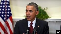 Obama à Washington le 25 novembre 2015. (AP Photo/Susan Walsh)
