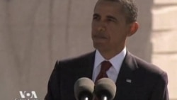 Президент Обама: «Мартин Лютер Кинг взбудоражил нашу совесть»
