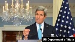 美国国务卿克里(资料照片)