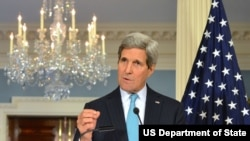 """Ngoại trưởng Kerry cho rằng quyết định của ông Obama phản ánh """"một sự sang trang lịch sử"""" trong mối quan hệ Hoa Kỳ-Cuba."""