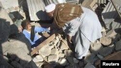 지난 3일 파키스탄 티메가라에서 발생한 폭탄 공격 현장. (자료사진)