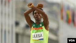Umunonotsi w'Umunyetiyopiya, Feyisa Lelisa