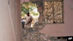 Casa destruida pelo Estado Islâmico nno Iraque (foto de arquivo)