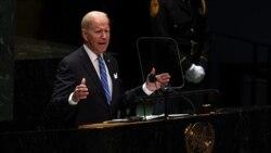 ကမ ၻာလံုးဆိုင္ရာ စိန္ေခၚမႈေတြကို ျပင္းျပင္းထန္ထန္ ရင္ဆိုင္ဖို႔ သမၼတ Biden ကတိျပဳ