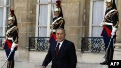 Президент Казахстана Нурсултан Назарбаев. Париж. Франция. 27 октября 2010 года