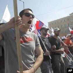 یونان: مظاہرین اور پولیس کے درمیان شدید جھڑپیں