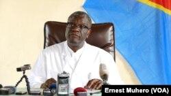 Dr. Denis Mukwege, Nobel de la Paix, joint par Nathalie Barge