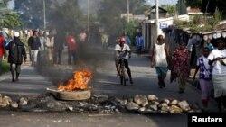布隆迪总统竞选第三任期引发民众抗议