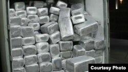 打包整齐的塑料袋庄大麻(美国海关图片 )