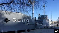 北韓50年前繳獲的美國間諜船