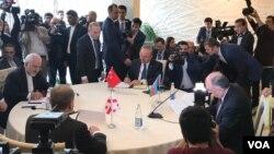 Azərbaycan, Türkiyə, İran, Gürcüstan xarici işlər nazirləri