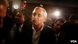 El presidente electo de Guatemala, Otto Pérez Molina, se refirió al tema de la pobreza y cómo lo combatirá durante su gobierno.