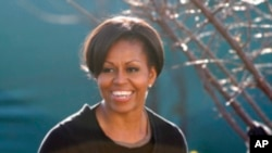 مشیل اوباما کا جنوبی افریقہ کے تفریحی پارک کا دورہ