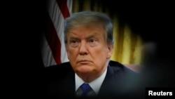 រូបឯកសារ៖ប្រធានាធិបតីអាមេរិកលោកDonald Trump