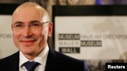 Михаил Ходорковский. Берлин. Германия. 22 декабря 2013 г.
