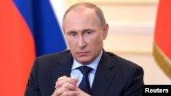 Президент России Владимир Пути