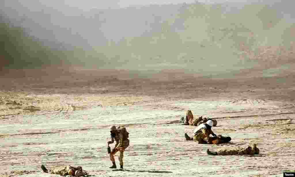 رزمایش بزرگ محمد رسولالله(ص) ۴ نیروی زمینی ارتش
