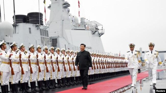 中国海军走向全球 大国冲突风险增加