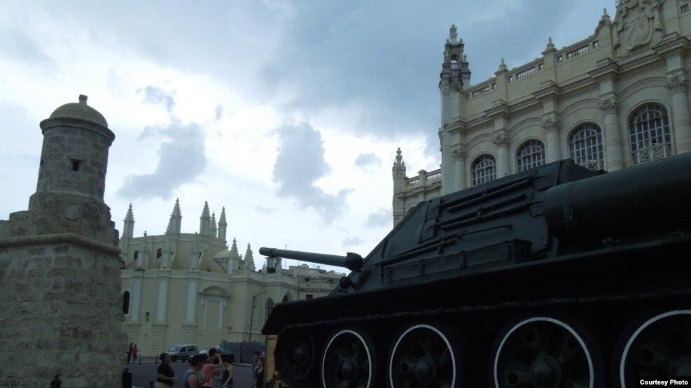 Bảo tàng Cách mạng ở Thủ đô Havana (ảnh Bùi Văn Phú)