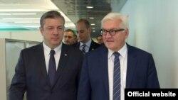 პრემიერი კვირიკაშვილი გერმანიის საგარეო საქმეთა მინისტრს ხვდება